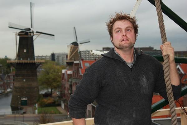 Molenaar Theo de Rooij bij vang_600